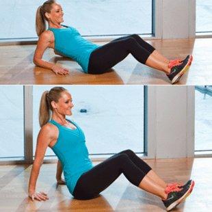 Фитнес упражнения для проблемных частей тела - фото №1