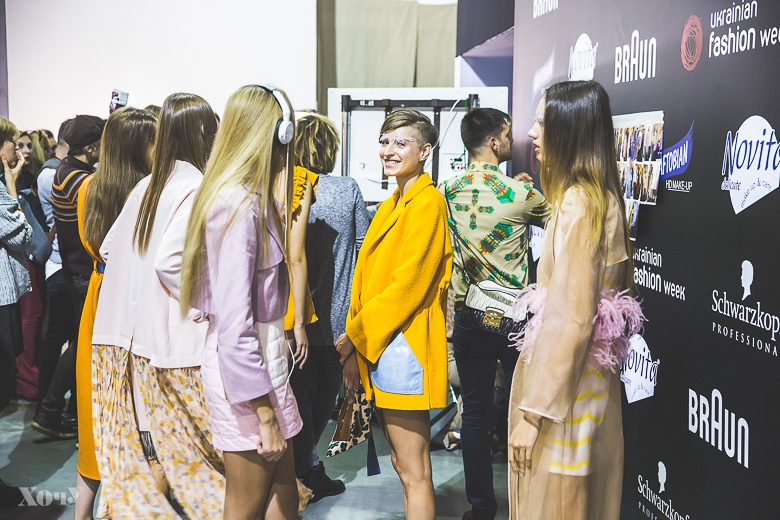 Ukrainian Fashion Week: backstage и закулисье Недели моды в Украине