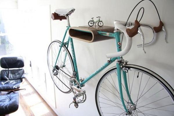 Интересная деталь в интерьере: велосипед - фото №5