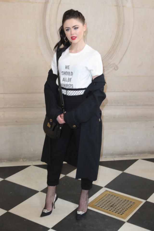 Неделя высокой моды в Париже Christian Dior Couture ss 2017 Кристина Базан фото