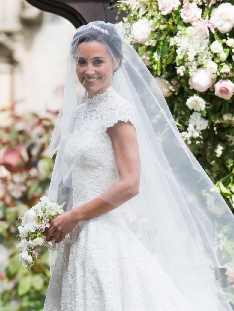 свадебное платье Пиппы Миддлтон