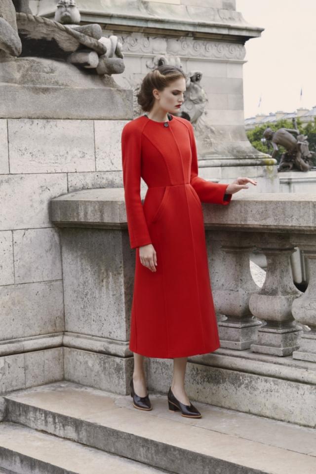Алла Костромичева стала лицом новой коллекции Ulyana Sergeenko осень-зима 2017/2018 (ФОТО) - фото №2