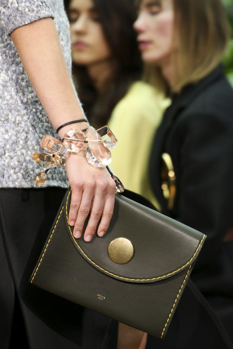 Прозрачные браслеты Céline - фото №4
