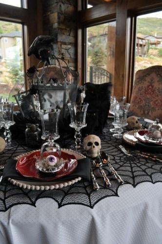 хэллоуин праздничный стол