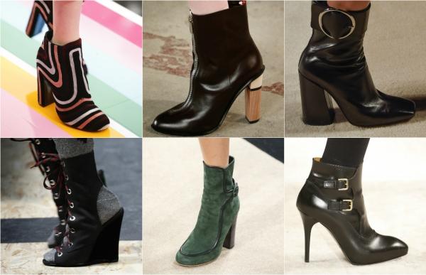 осень обувь 2016