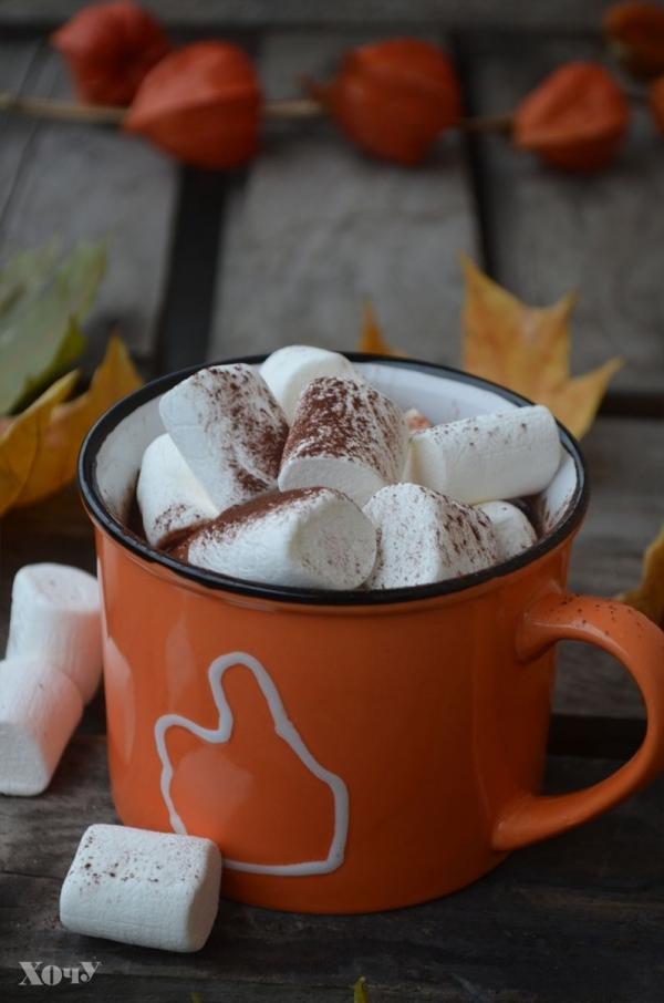 Кулинарная колонка Оли Мончук. Какао с маршмеллоу - фото №7