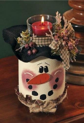 свечки на новый год