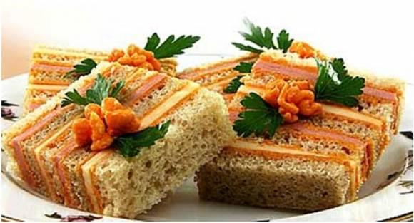 Бутерброды к новогоднему столу: топ 10 вариантов - фото №10