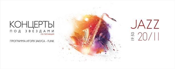 Куда пойти 21-22 ноября джаз под звездами