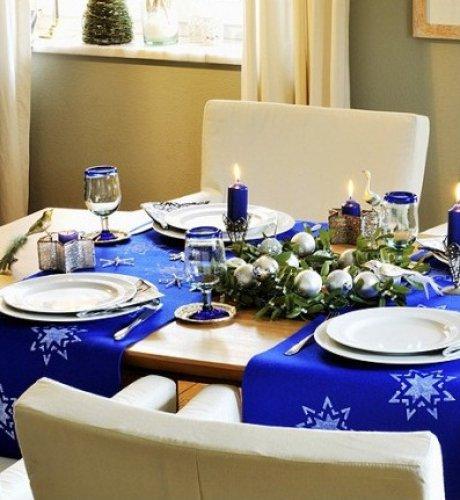 Как сервировать стол ко встречи года Овцы - фото №1