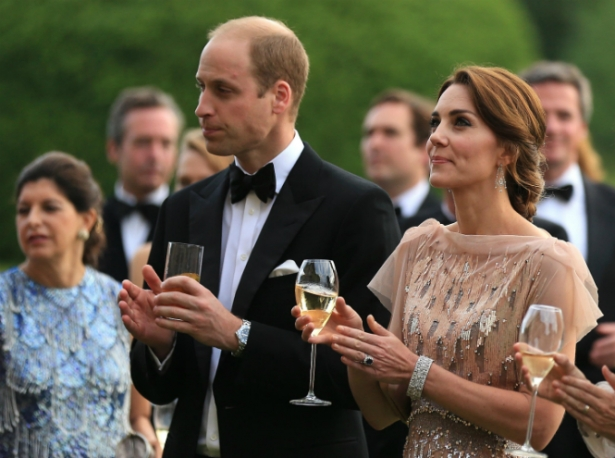 что не едят кейт миддлтон и принц уильям