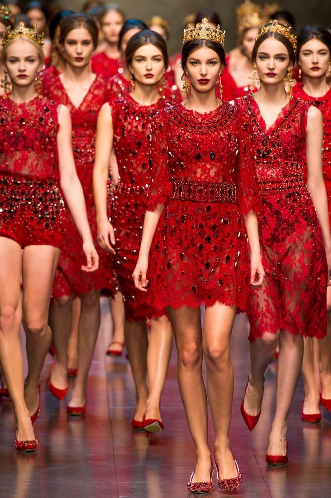 Неделя моды в Милане: показ Dolce&Gabbana FW 2013-2014 - фото №31