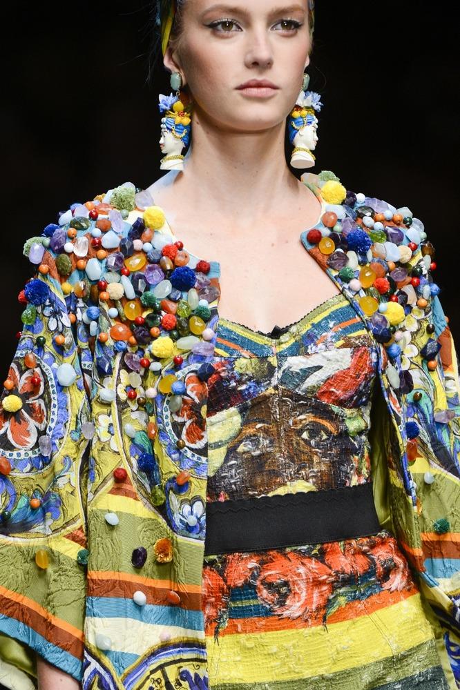 Неделя моды в Милане: показ Dolce&Gabbana - фото №6