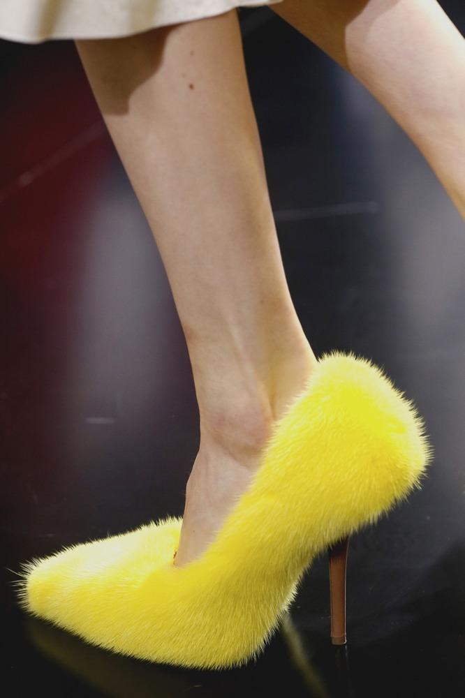 Туфли с педикюром от Celine - фото №1