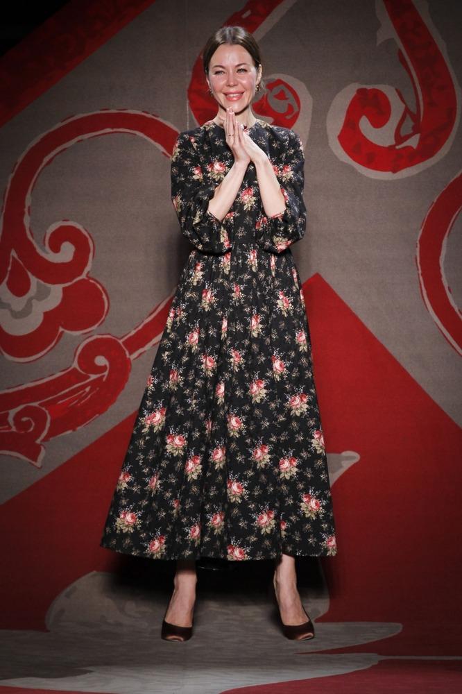 Неделя высокой моды в Париже: показ Ulyana Sergeenko - фото №1