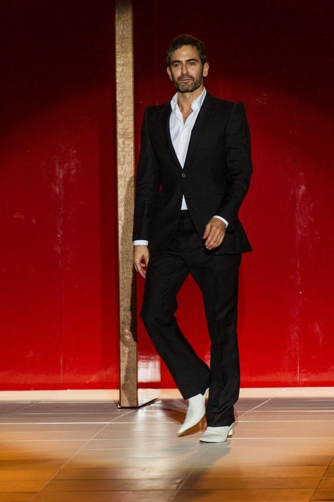 Неделя моды в Нью-Йорке: полосатое шоу Marc Jacobs - фото №1