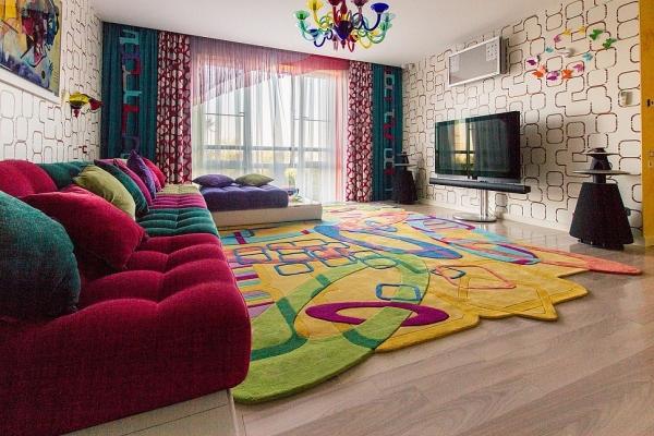 яркие ковры