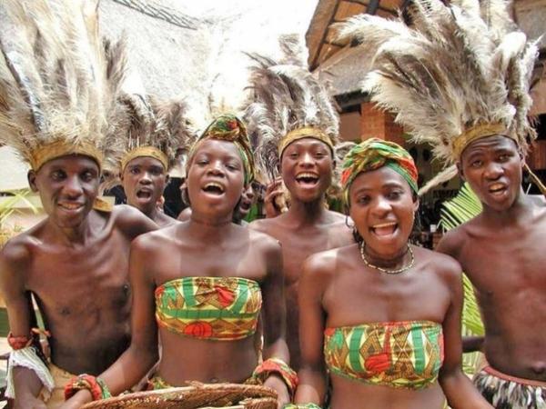 брачная ночь в африке