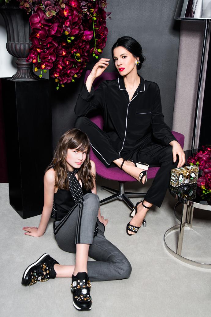 Маша Ефросинина в роли Моники Беллуччи в фотосессии Dolce and Gabbana - фото №3