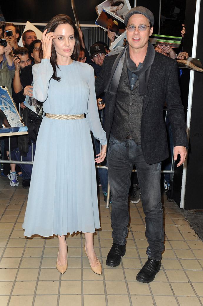 Джоли и Питт 2015