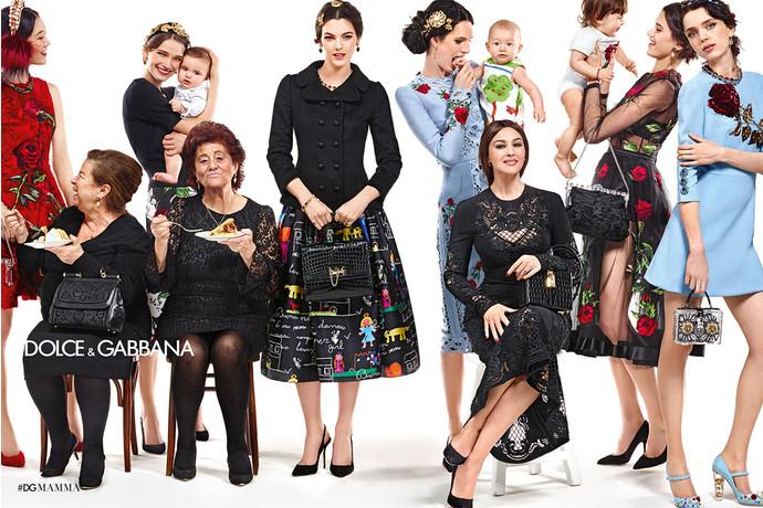 Bella familia: Моника Белуччи в новой кампании Dolce & Gabbana