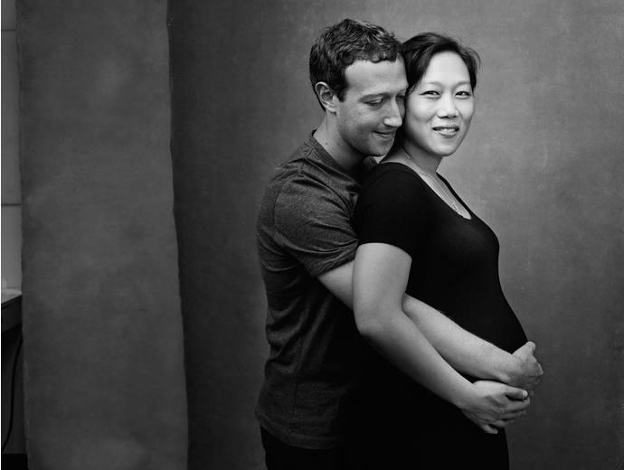 Цукерьерг с женой