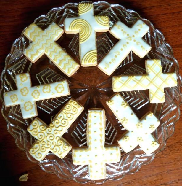 печенье крест
