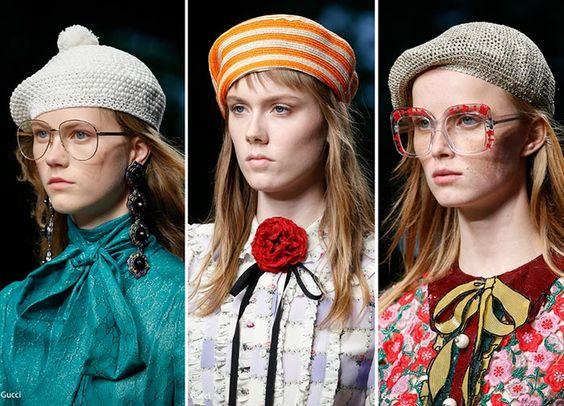 как носить модно берет