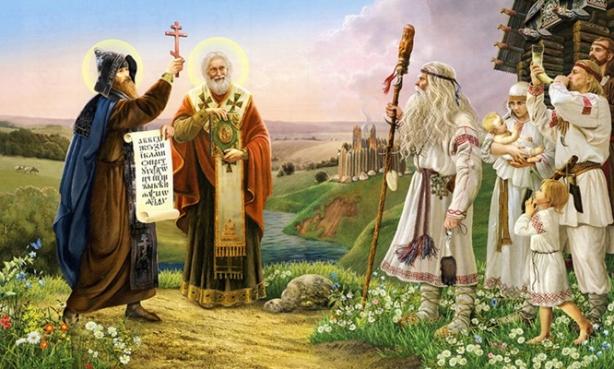 возникновение славянской письменности кирилл и мефодий