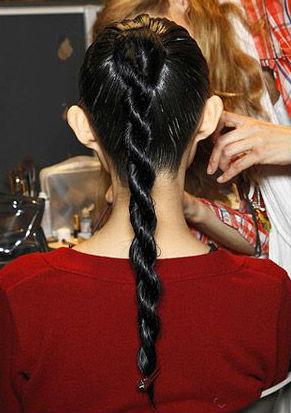 Мастер-класс: как заплести косу-канатик - фото №1