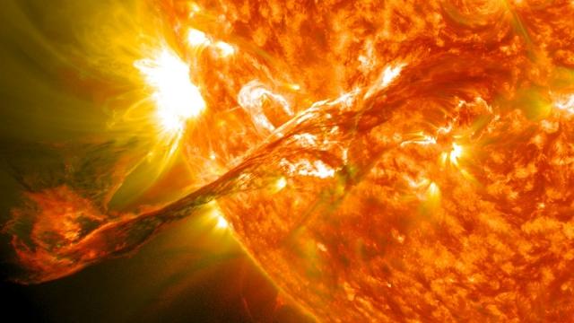 вспышки на солнце 2017