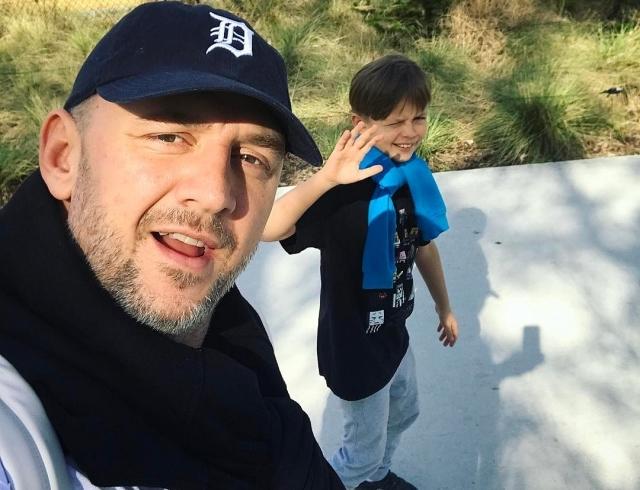 Копия отца: Потап похвастался своим стильным сыном Андреем (ФОТО) - фото №2