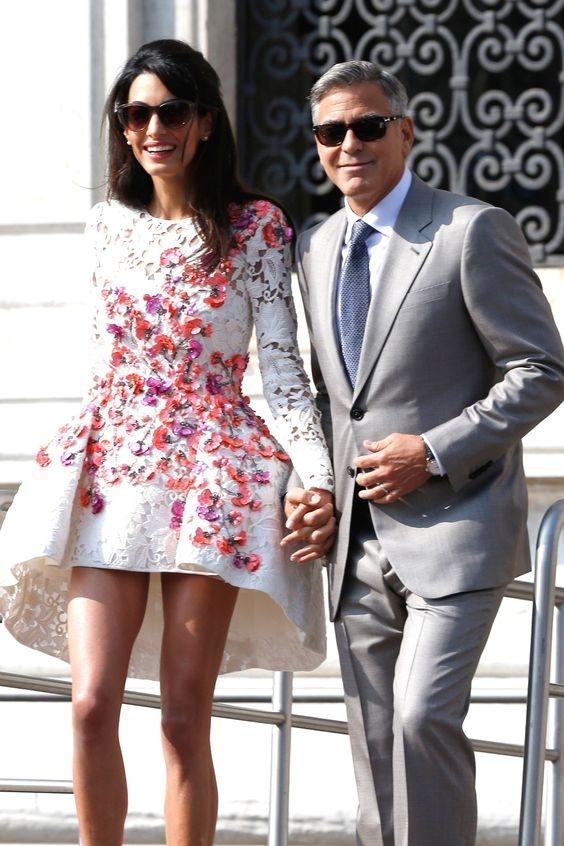 Джордж Клуни в восторге от родительских навыков беременной жены Амаль - фото №1