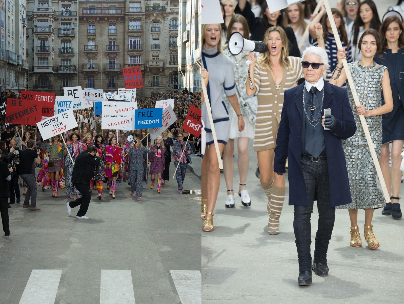 Неделя моды в Париже: Chanel, весна-лето 2015 - фото №2