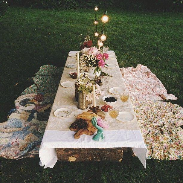 Как устроить красивый пикник: фотоидеи - фото №3