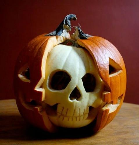 тыква на хэллоуин как сделать