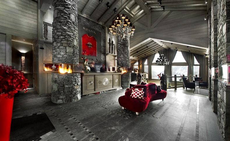 Лучшие отели мира: Hotel Le K2, Куршевель, Франция - фото №2