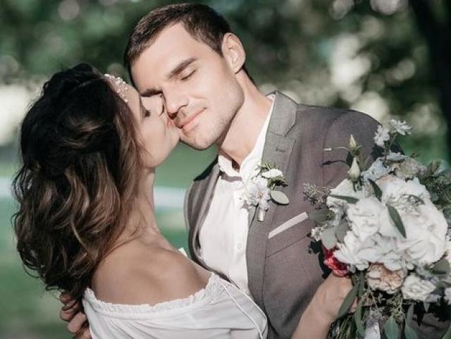 Галина Безрук с мужем