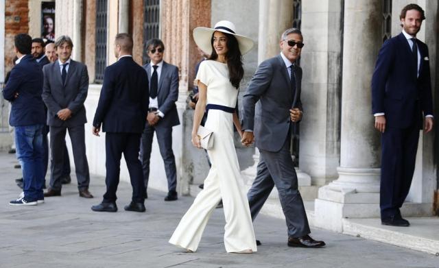 Развод Джорджа и Амаль Клуни: лучшие совместные выходы Джорджа и Амаль Клуни