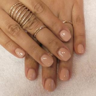 Модная форма ногтей 2016: короткие ногти