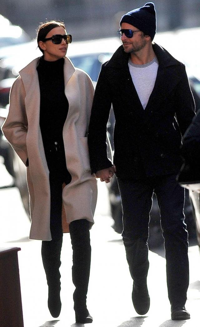 Ирина Шейк и Брэдли Купер впервые вышли в свет после рождения дочери (ФОТО) - фото №1