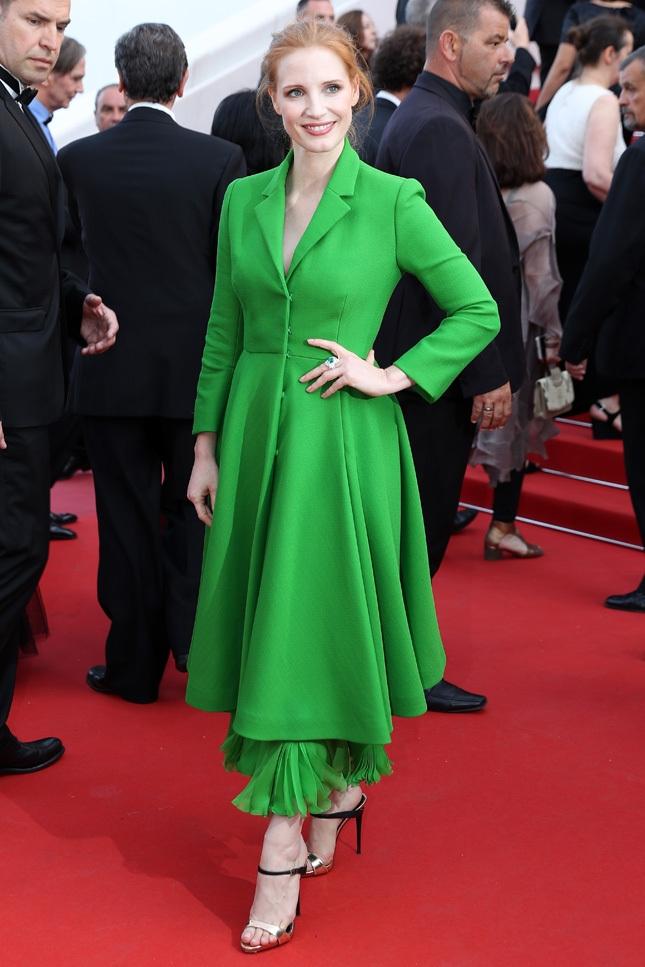 зеленые платья Канн-2017