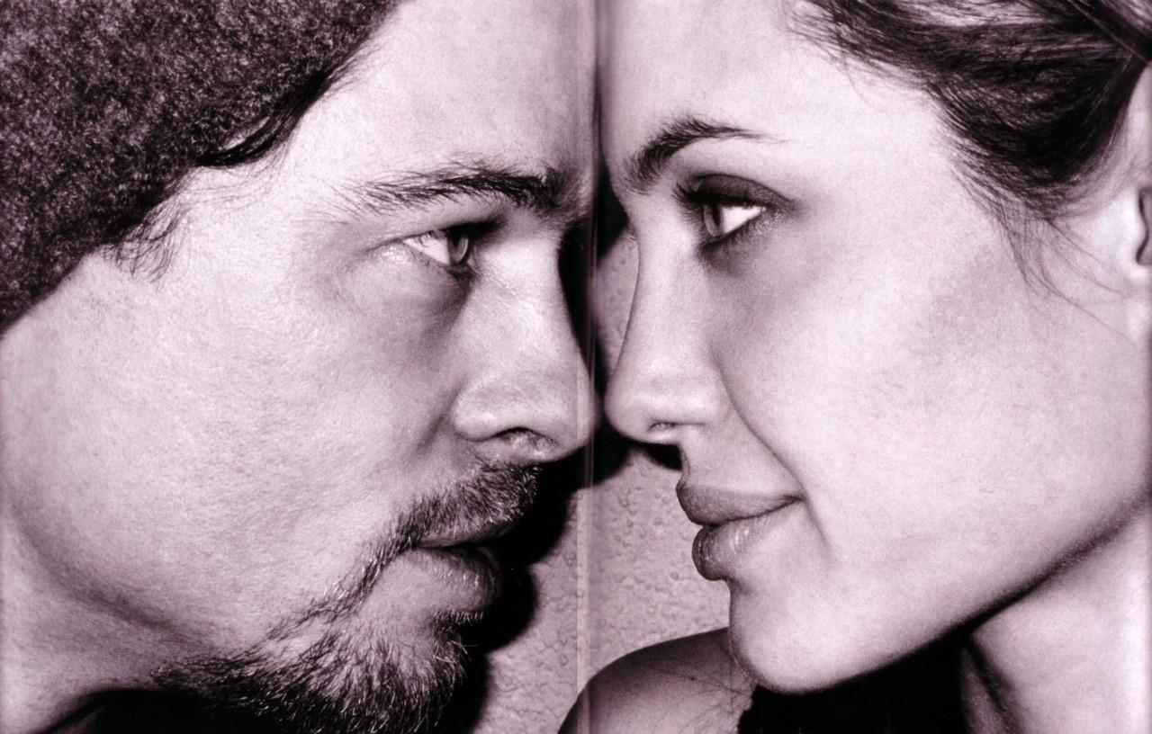Анджелина Джоли Брэд Питт фото