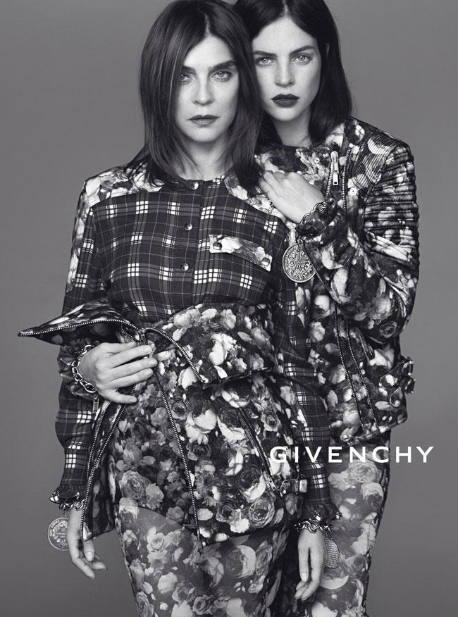 Карин Ройтфельд сняла рекламную кампанию Givenchy - фото №1