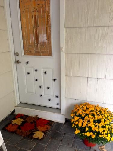 хэллоуин как украсить в доме