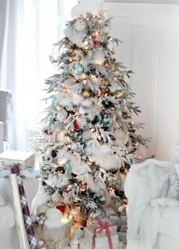 елка на новый год 2017 фото