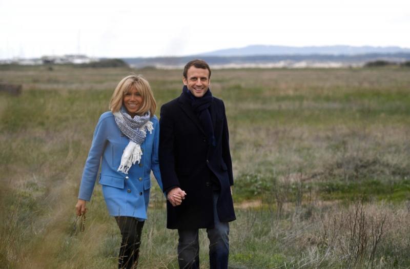 президент франции жена