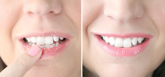 как отшелушивать губы