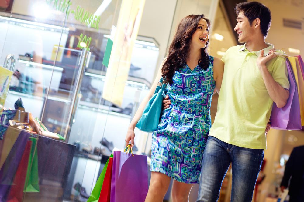 Совместный шопинг с парнем
