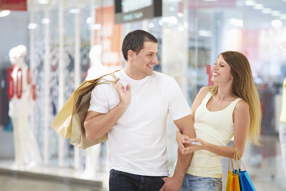 Совместный шопинг с парнем. Как уговорить